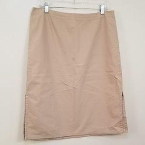 J. Crew Khaki Tan Pencil Skirt 12